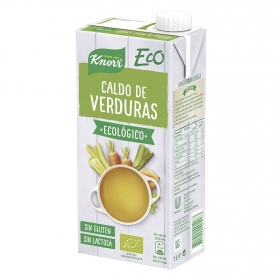 Caldo de verduras ecológico Knorr sin gluten sin lactosa 1 l.