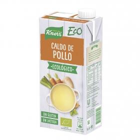 Caldo de pollo ecológico Knorr sin gluten sin lactosa 1 l.