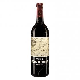 Vino D.O. Rioja tinto Reserva Viña Tondonia 75 cl.