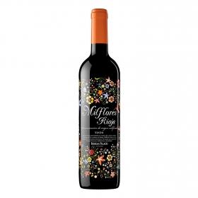 Vino D.O. Rioja tinto Milflores 75 cl.