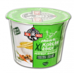 Cup Korean ramen XL original verduras