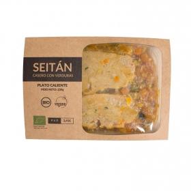Seitan casero con verduras 250 g