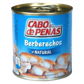 Berberechos al natural Cabo de Peñas 90 g.