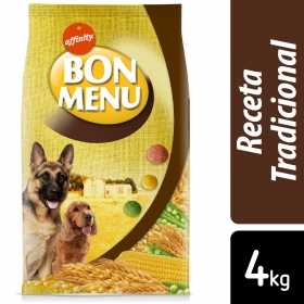 Alimento Seco para Perro Bon Menu Adulto Receta Tradicional 4 Kg