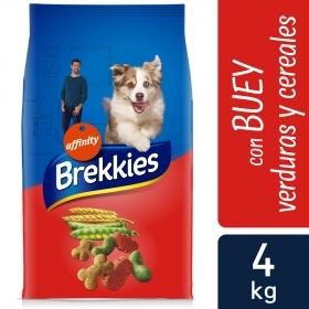 Brekkies Pienso para Perros  buey y verduras 4 Kg