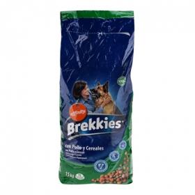 Comida para perros pollo y cereales