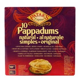 Pan Pappadum natural Patak's 100 g.