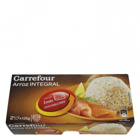Arroz integral microondas