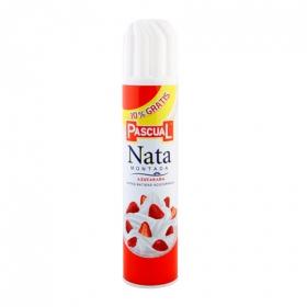 Nata montada azucarada Pascual spray 250 g.
