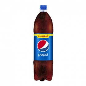 Refresco de cola Pepsi botella 1,5 l.