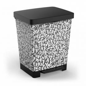 Cubo Basura Cubik 23 l Deco