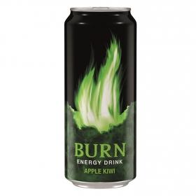 Bebida energética Burnn sabor manzana y kiwi 50 cl.