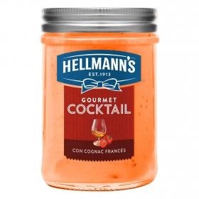 Salsa cocktail gourmet Hellmanns 190 g.