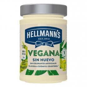 Salsa vegana Hellmanns sin gluten 280 ml.