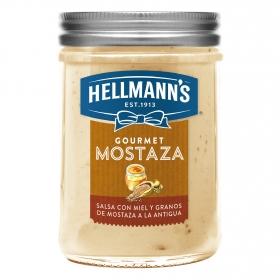 Mostaza gourmet Hellmanns 190 g.