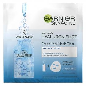 Hyaluron Shot Fresh-mix Mask Tissu Rellena y Alisa Garnier-Skin Active 1 ud.