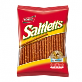 Galletas saladas sticks Lorenz 150 g.