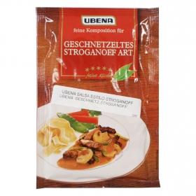 Salsa estilo stroganoff Ubena sobre 40 g.
