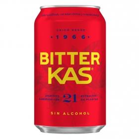 Bitter Kas sin alcohol lata 33 cl.