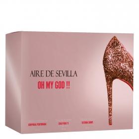 Estuche Aire de Sevilla Oh My God!! (Colonia 150 ml. + Gel 150 ml. + Crema corporal 150 ml.) 1 ud.