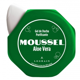 Gel de ducha purificante aloe vera Moussel 600 ml.