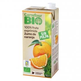 Zumo de narqanja ecológico Carrefour Bio brik 1 l.
