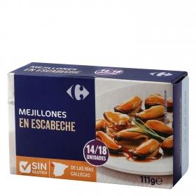 Mejillón en escabeche 14/18 Carrefour 69 g.