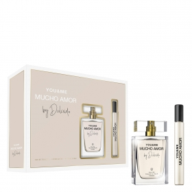Estuche Dulceida You&me Mcuho Amor (Colonia 80 ml. + Colonia roll-on 15 ml.)