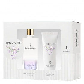 Estuche sutilmente Iris (Colonia 100 ml. + Body lotion 100 ml.) Javier Larrainzar 1 ud.