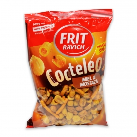 Cocktail de frutos secos sabor miel y mostaza Frit Ravich 180 g.