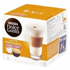 Café latte macchiato light en cápsulas Nescafé Dolce Gusto 8 unidades de 19,2 g .
