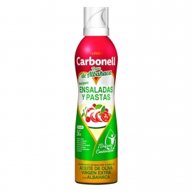 Aceite de olvia virgen extra Carbonell spray 200 ml.