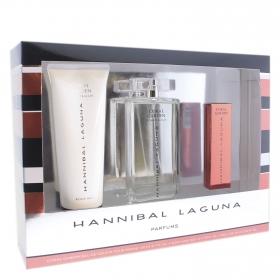 Estuche Coral Garden (Colonia 150 ml. + Desodorante 10 ml.+ Body milk 230 ml.) Hannibal Laguna 1 ud.
