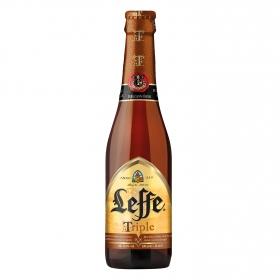 Cerveza Leffe Triple botella 33 cl.