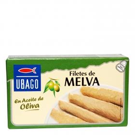 Filetes de melva en aceite de oliva Ubago 85 g.