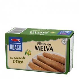 Filetes de Melva de Almadraba en aceite de oliva Ubago 85 g.