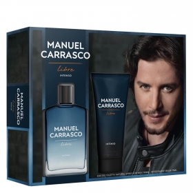 Estuche de colonia Manuel Carrasco Intenso Vapo 100 ml. + Aftershave 75 ml.