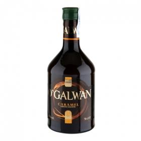 Crema de whisky O'Galwan sabor caramelo