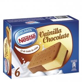 Sandwich La Lechera Vainilla Chocolate