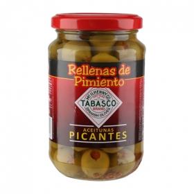 Aceitunas verdes picantes Serpis 200 g.