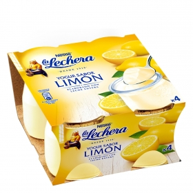 Yogur sabor limón