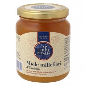 Miel de flores Terre d'Italia 500 g.