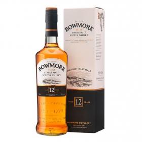 Whisky Bowmore escocés 12 años 70 cl.