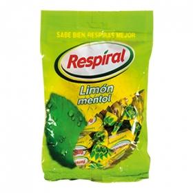 Caramelos limón mentol