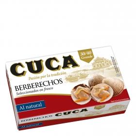 Berberechos al natural 30/40 Cuca 63 g.