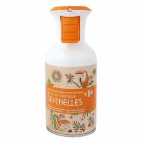 Ambientador spray Seychelles Carrefour 250 ml.