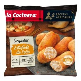 Croquetas de estofado de pollo 'Recetas Artesanas' La Cocinera 500 g.