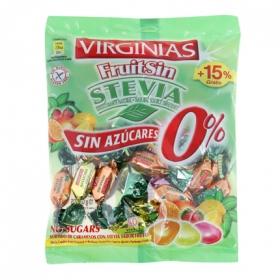 Caramelos sin azúcar Fruitsin