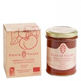 Mermelada de tomate agridulce ecológica Pazo De Vilane 210 g.