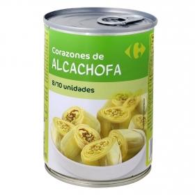 Corazones de Alcachofa 8/10 Carrefour 240 g.